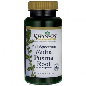 Full Spectrum Muira Puama 400mg 90 kaps - suplement diety