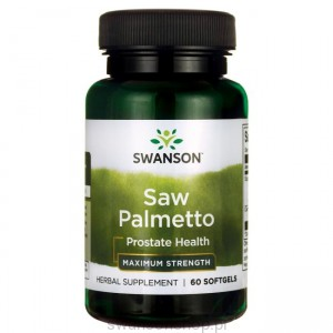 Saw Palmetto extract 320mg 60sgels - suplement diety