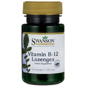 Witamina B-12 1000mcg 100 do ssania - suplement diety