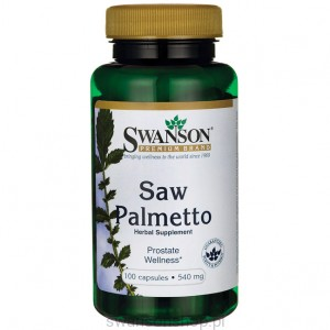 Saw Palmetto 540mg 100 kaps - suplement diety