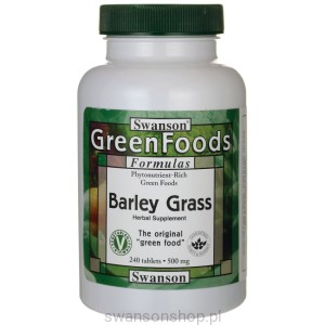 Barley Grass 500mg 240 tabs - suplement diety