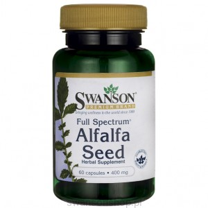Full Spectrum Alfalfa 400mg 60kaps - suplement diety