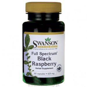 Full Spectrum Black Raspberry 425mg 60 kaps - suplement diety